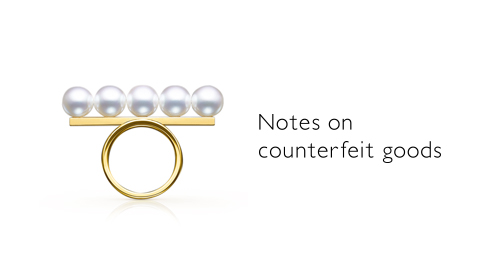 Notes on counterfeit goods