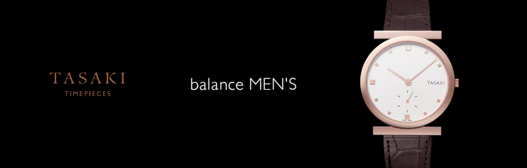 TIMEPIECES balance MEN'S